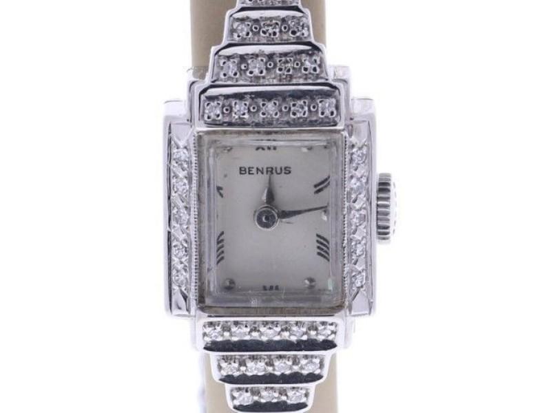 Benrus Vintage 16mm Womens Watch