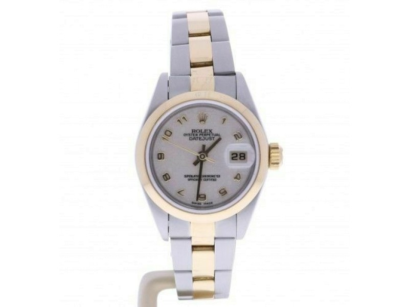 Women's Rolex Datejust 79163 26 mm Anniversary Edition Ivory color Dial