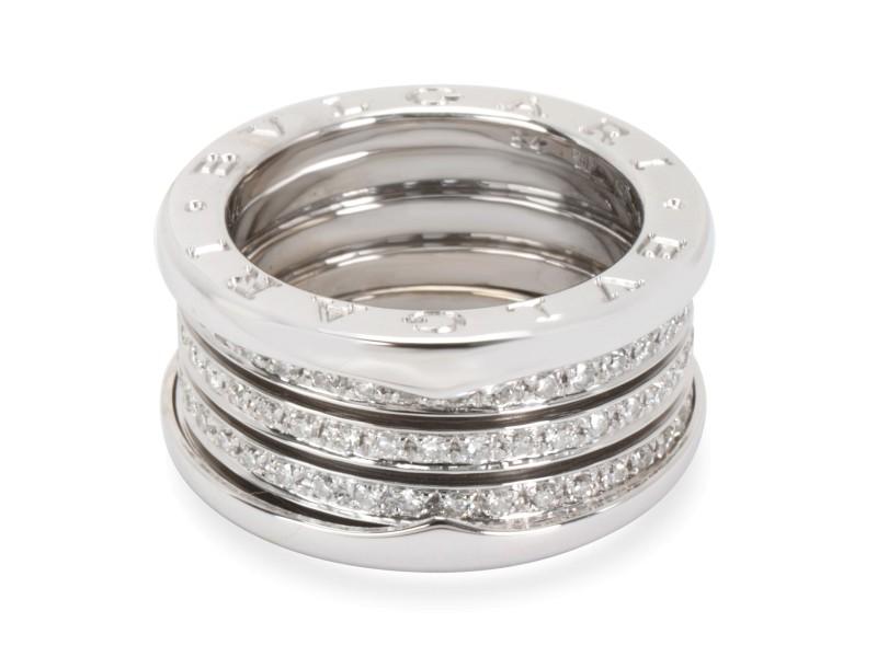 Bulgari B.zero1 Diamond Eternity Ring in 18K White Gold (1 CTW)