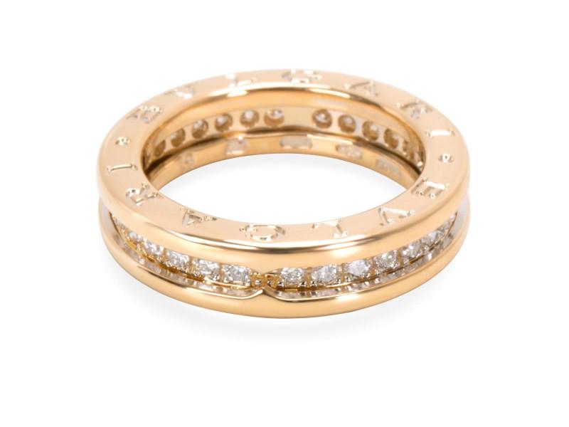 Bulgari B.zero1 Diamond Ring in 18K Yellow Gold (0.64 CTW)