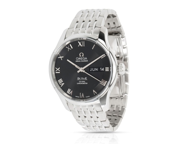 Omega Annual Calendar 431.10.41.22.01.001 Men's Watch in  Stainless Steel