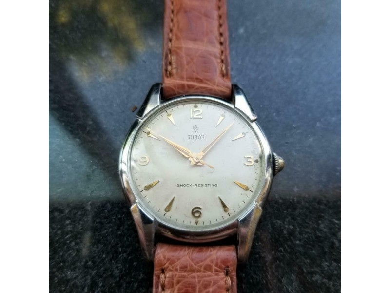 TUDOR Men's ref.803 17j Manual Hand-Wind Dress Watch, c.1968 Swiss Vintage LV964