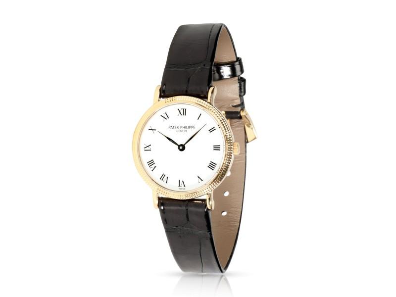 Patek Philippe Calatrava 4819 Women's Watch in 18kt Yellow Gold