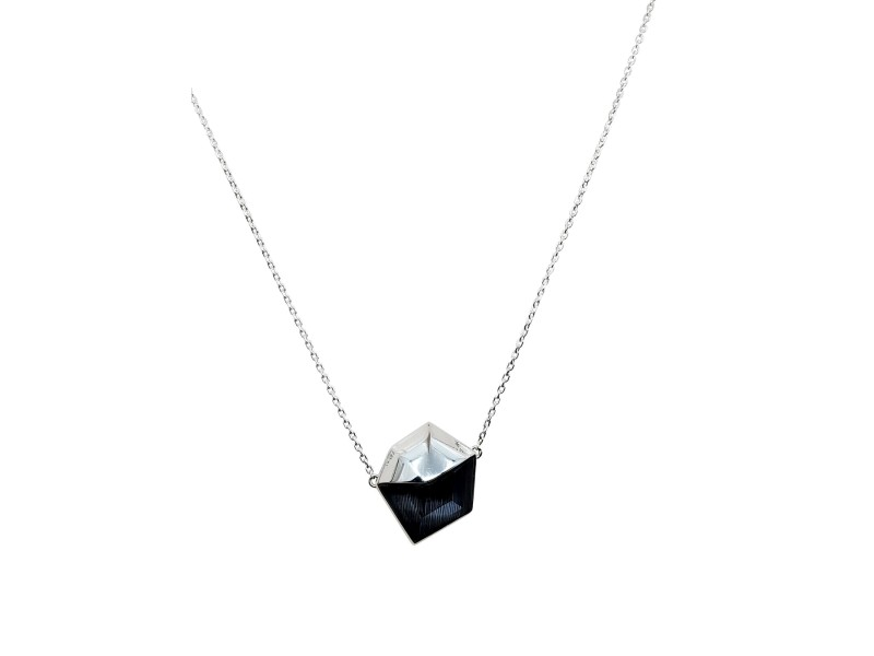 Stephen Webster Superstud Grey Cat's Eye Crystal Haze Necklace
