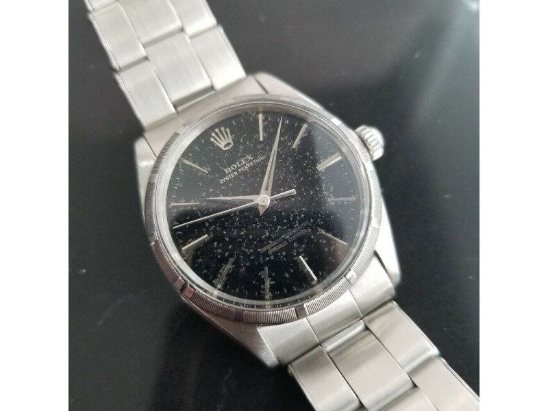Mens Rolex Oyster Perpetual Ref.1003 34mm Automatic, c.1960s Swiss Vintage MA178