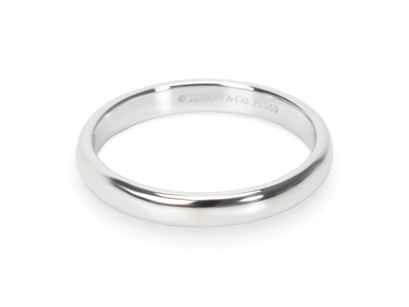 Tiffany & Co. Classic Collection 3mm Wedding Band in Platinum