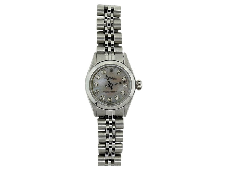 Rolex Nodate Stainless Steel Ladies Watch