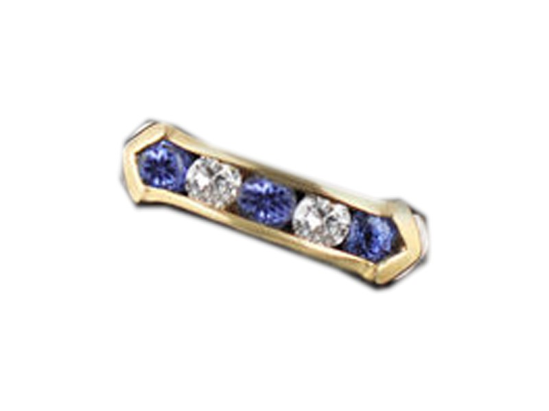 Le Vian Tanzanite 14K Yellow Gold Diamond Ring