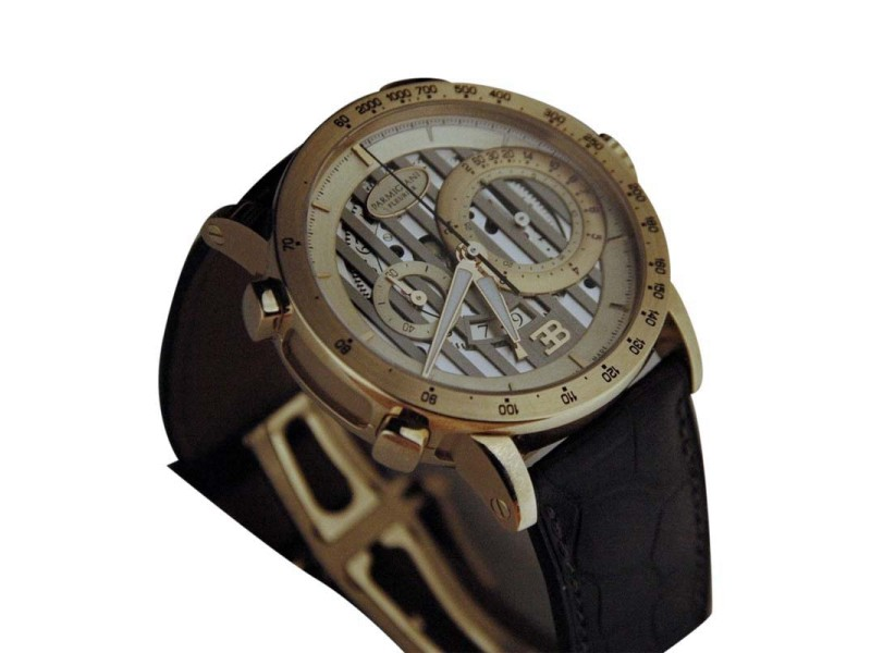 Parmigiani Fleurier Bugatti Atalante Flyback 43mm Watch
