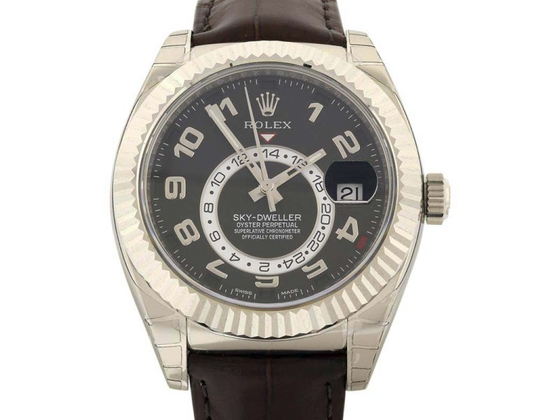 Rolex Sky-Dweller 326139 42mm Mens Watch