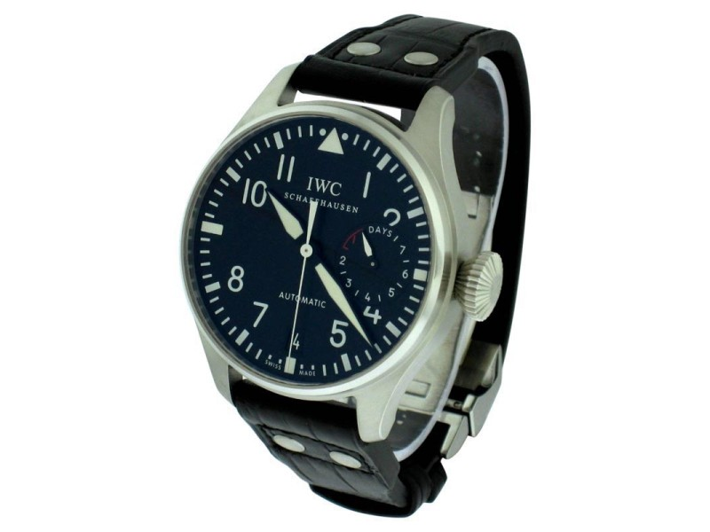 IWC IW500901 Big Pilot Stainless Steel Watch