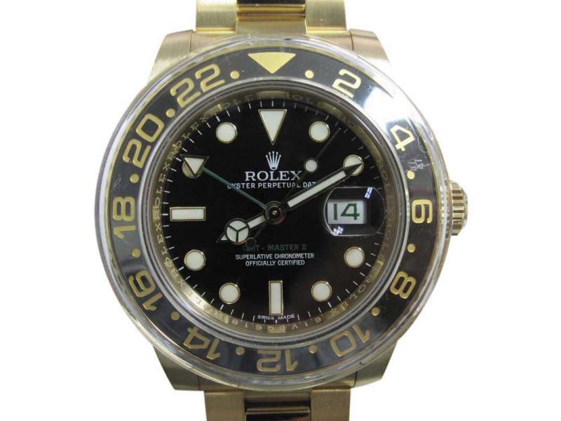 Rolex GMT Master II 116718 40mm Mens Watch
