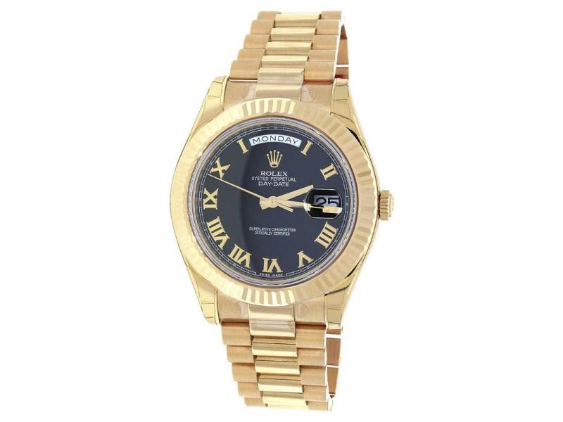Rolex President Day-Date II 218235 41mm Mens Watch