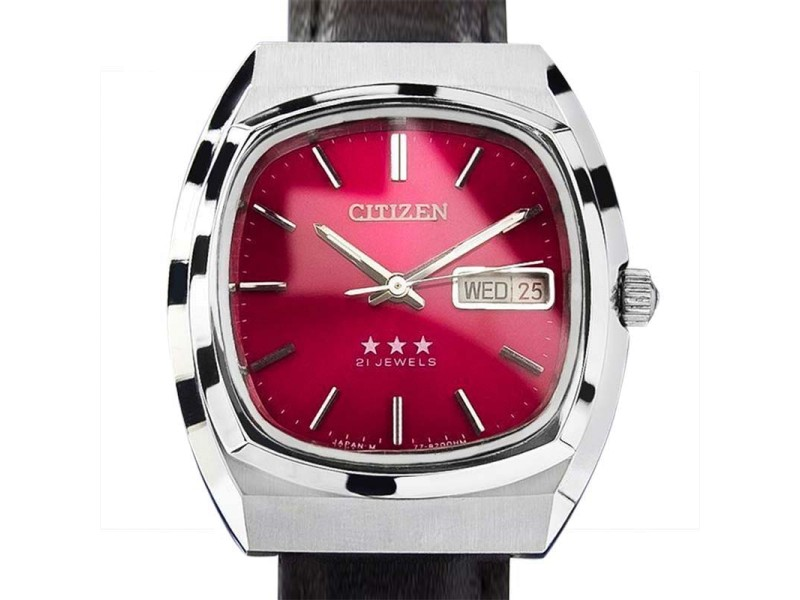Citizen Stainless Steel Manual 36mm Watch