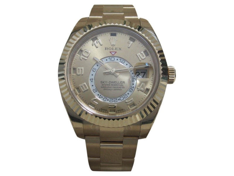Rolex Sky Dweller 326938 42mm Mens Watch