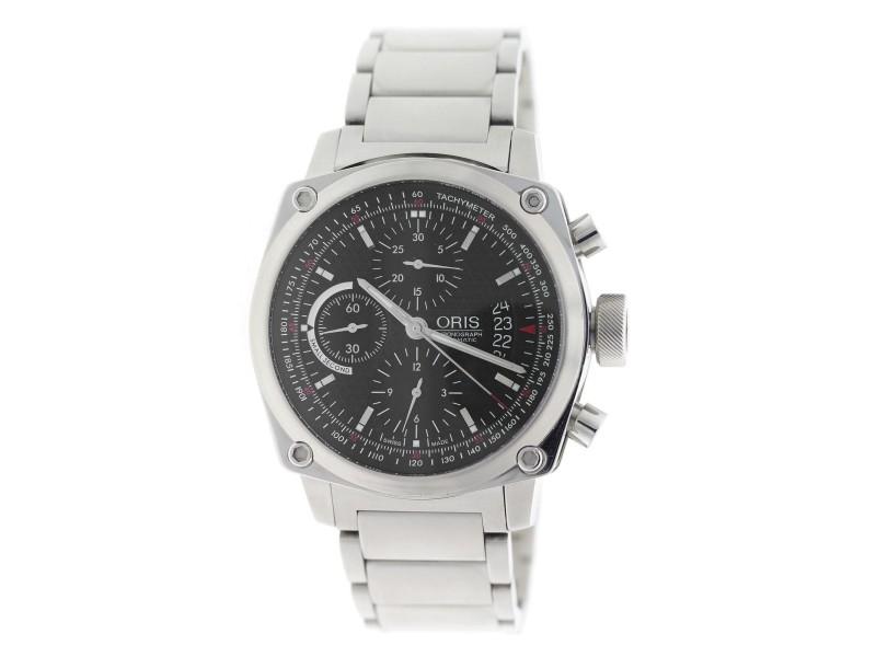 Oris BC4 Chronograph 01 674 7616 4154-07 8 22 58 42.7mm Mens Watch