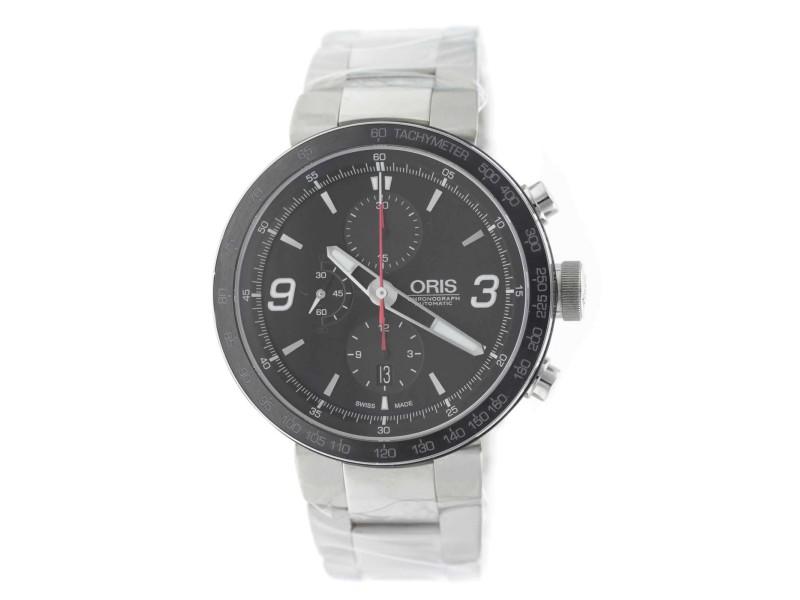 Oris TT1 Chronograph 01 674 7659 4174-07 8 25 10 45mm Mens Watch