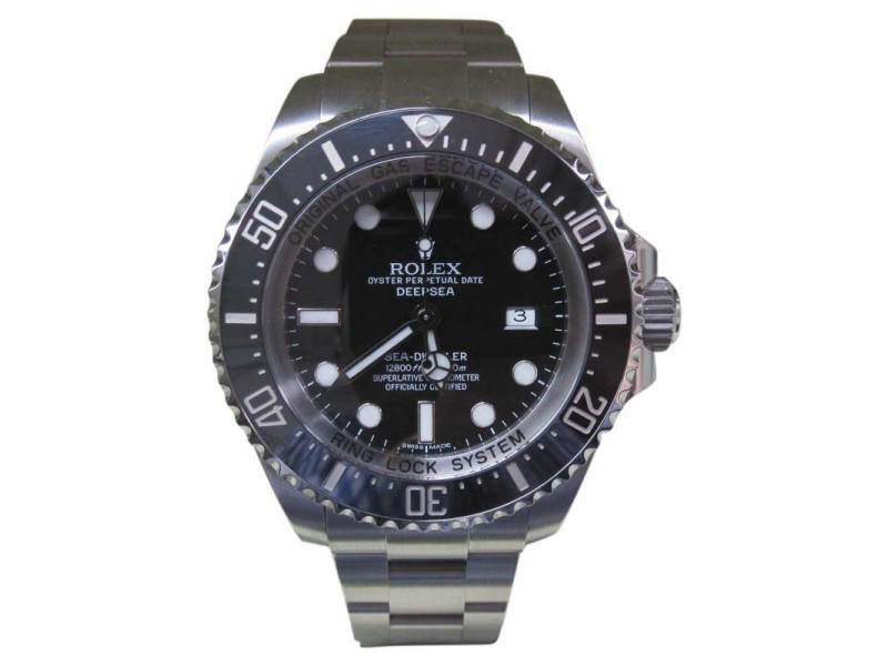 Rolex Deepsea 116660 44mm Mens Watch