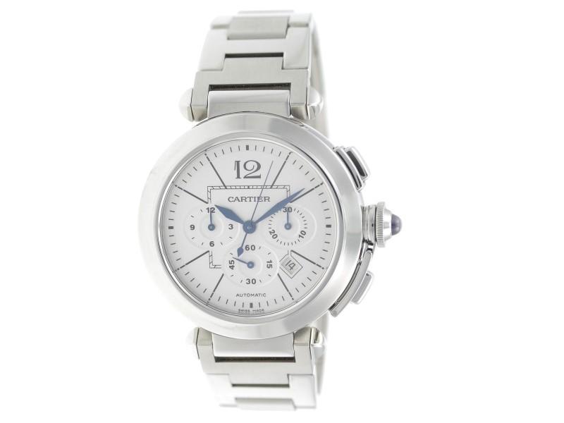 Cartier Pasha W31085M7 42mm Mens Watch
