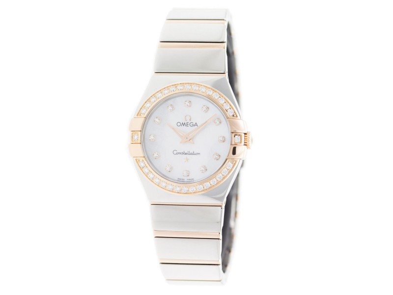 Omega Constellation 123.25.27.60.55.005 27mm Womens Watch