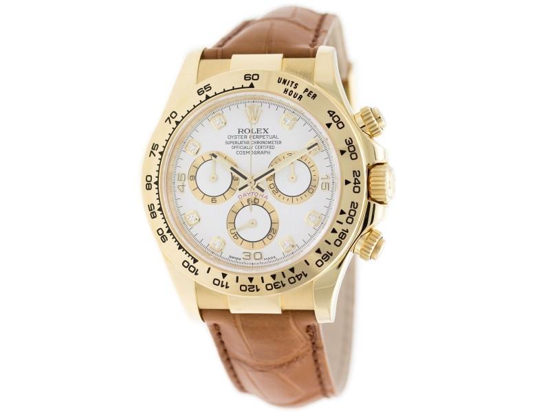 Rolex Daytona 116518 40mm Mens Watch