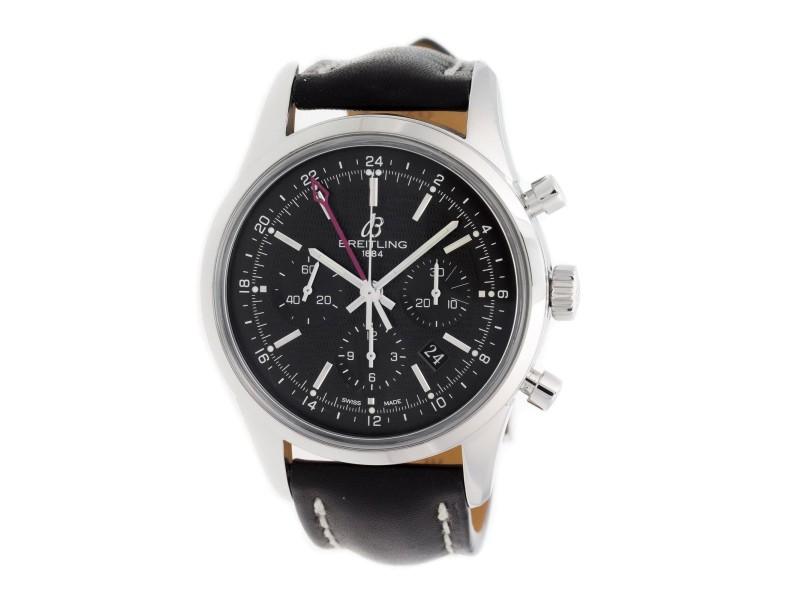 Breitling Transocean Pilot AB045112/BC67 43mm Mens Watch
