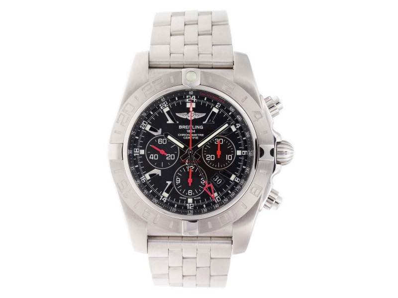 Breitling Chronomat GMT AB041210/BB48-384A 47mm Mens Watch