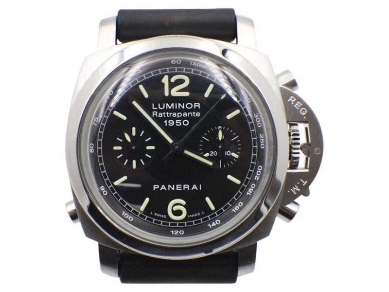 Panerai Luminor 1950 Rattrapante PAM00213 44mm Mens Watch