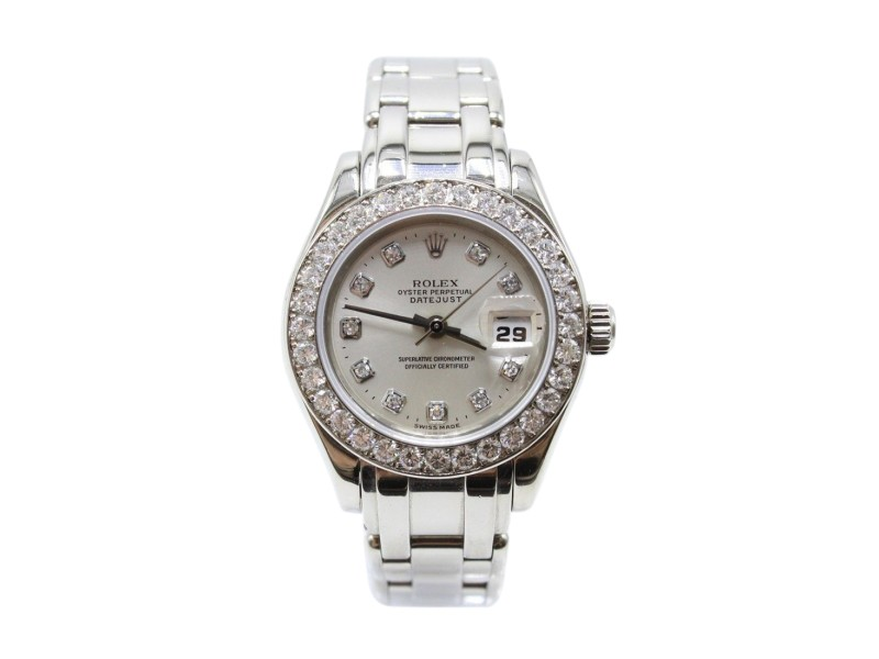 Rolex Pearlmaster 69299 29mm Womens Watch