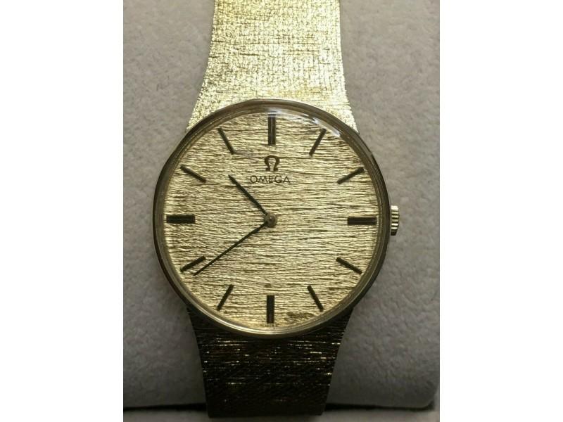 160 Vintage Omega Bracelet Watch 14K Yellow Gold DD6854