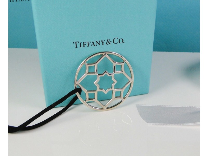 Tiffany & Co. Zellige Large Pendant on Adjustable Cord by Paloma Picasso