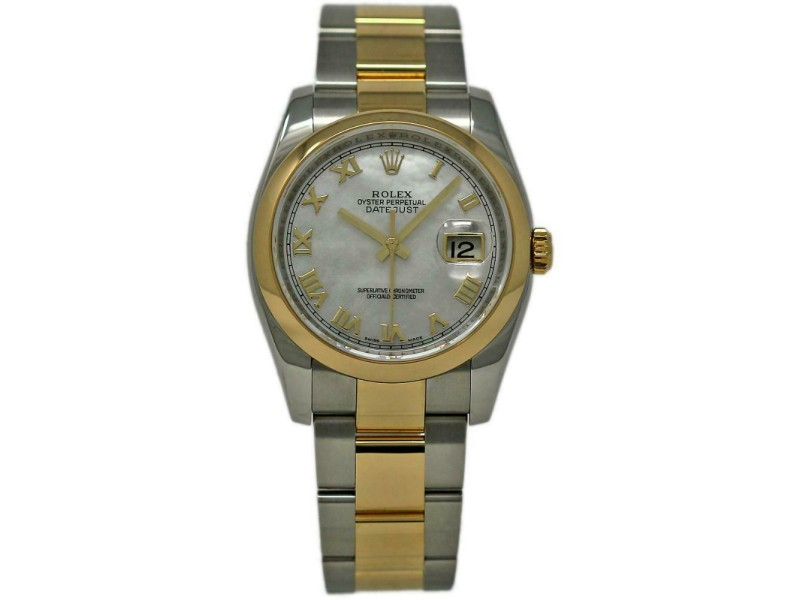 Rolex Datejust 116203 Steel 36.0mm Womens Watch