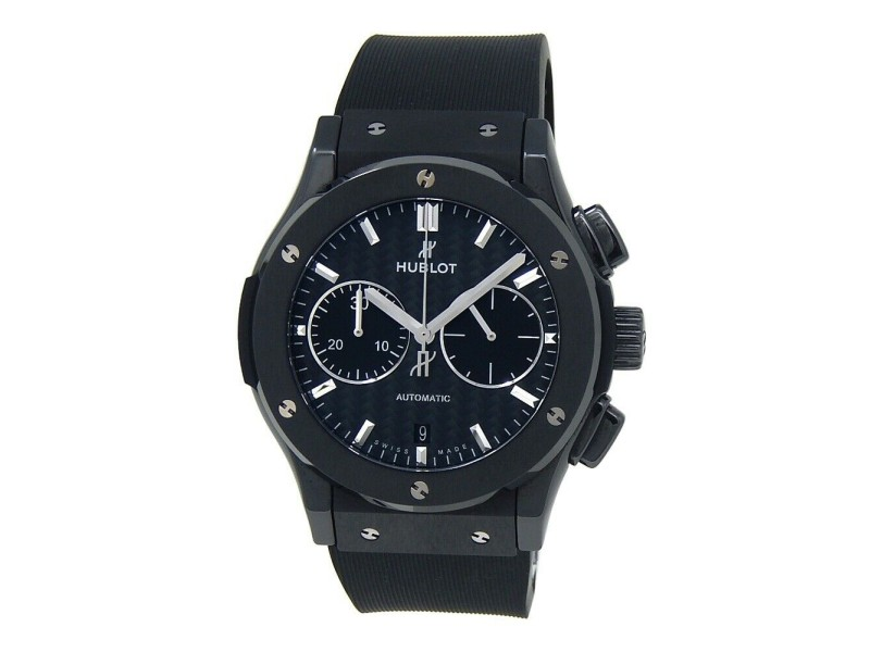Hublot Classic Fusion Chronograph Black Magic Ceramic Watch 541.CM.1771.RX