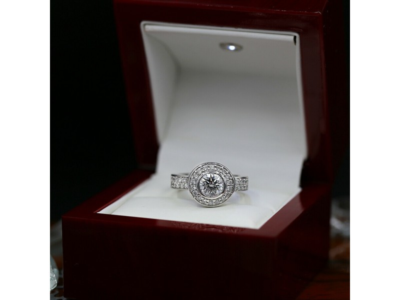 Amazing 14k White Gold Cocktail Ring with 2.35ct. Total Diamond Weight