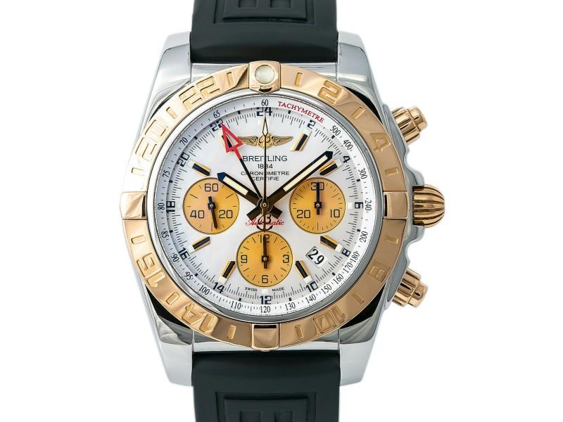 Breitling Chronomat CB0420 Steel 44mm  Watch (Certified Authentic & Warranty)