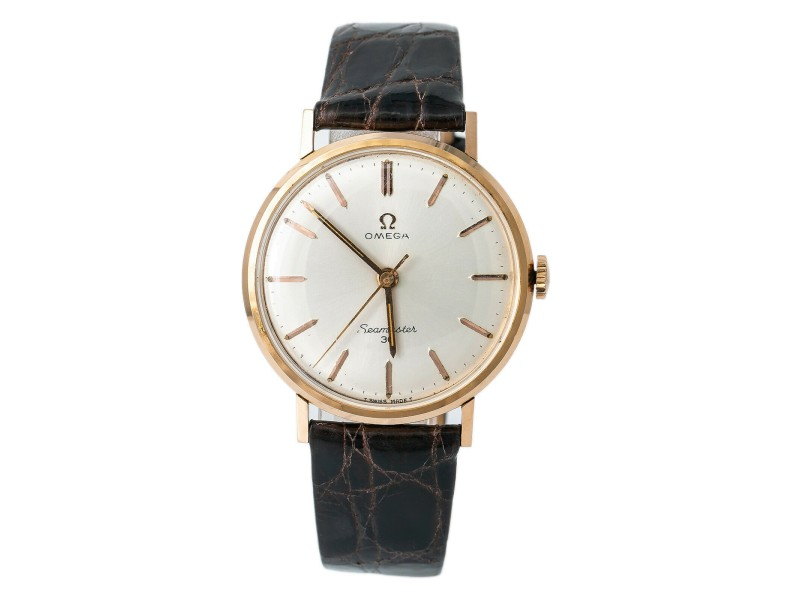 Omega Seamaster 135.007- Gold 35mm  Watch (Certified Authentic & Warranty)