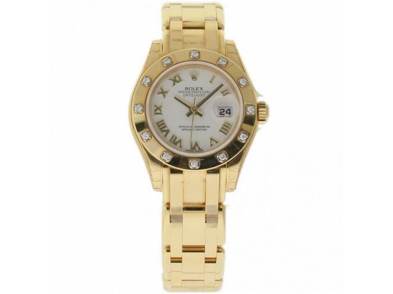 Rolex Masterpiece 80318 Gold 29.0mm Women Watch (Certified Authentic & Warranty)