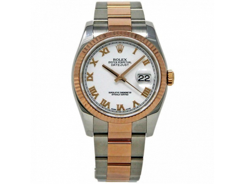 Rolex Datejust 116231 Steel 36.0mm Women Watch (Certified Authentic & Warranty)
