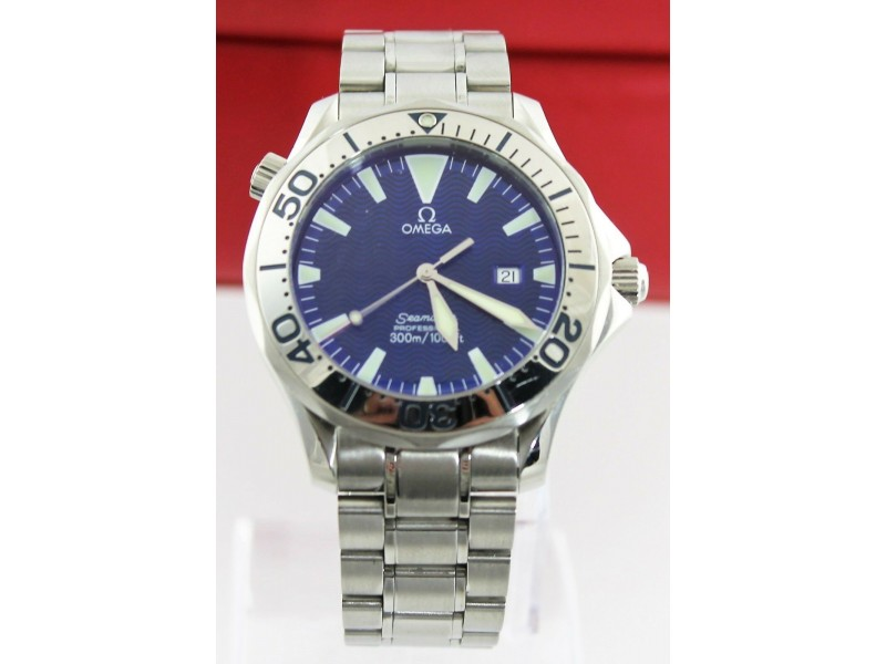 OMEGA SEAMASTER PROFESSIONAL 2265.80 LARGE ELECTRIC BLUE DIVER WATCH
