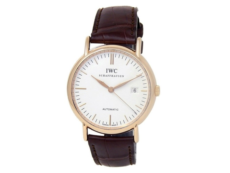 IWC Portofino 18k Rose Gold Men's Watch Automatic IW356302