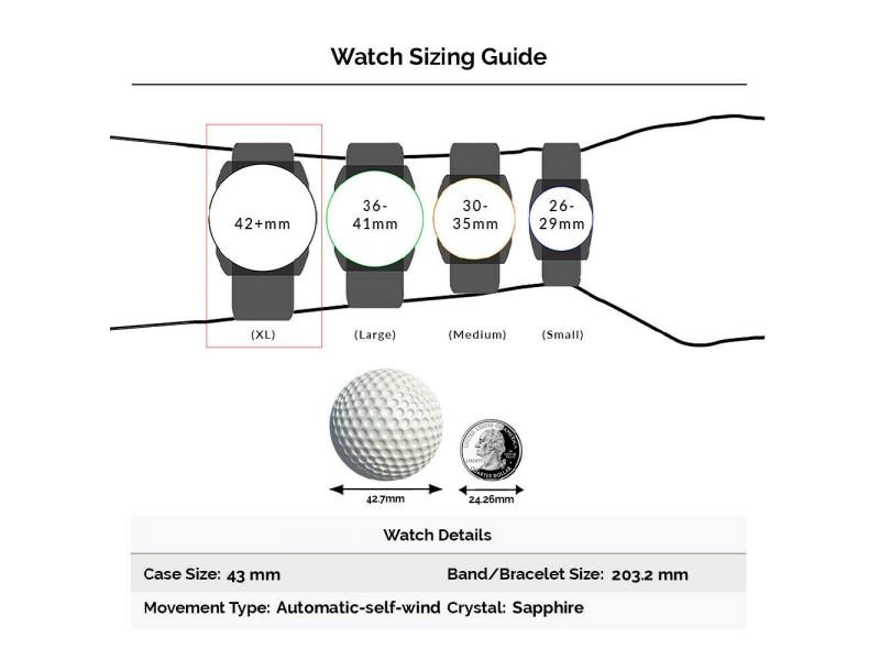 Iwc Pilot IW377710 Steel 43mm  Watch