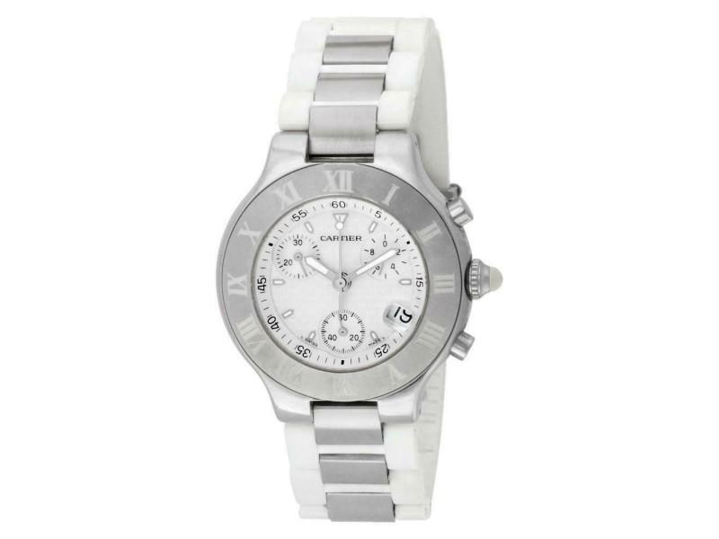 Cartier Must 21 2424 Steel 38.0mm  Watch