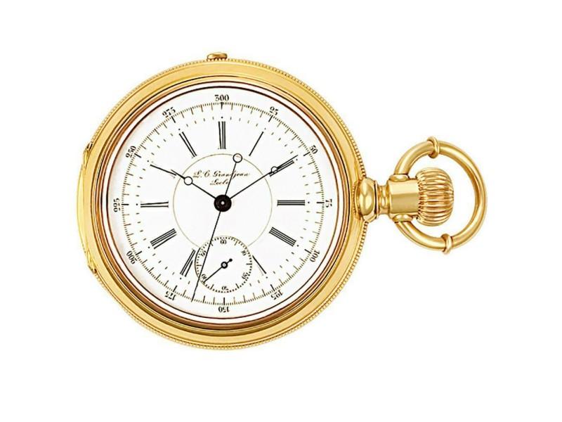 Grandjean Pocket Watch 1833 Gold 55.0mm  Watch