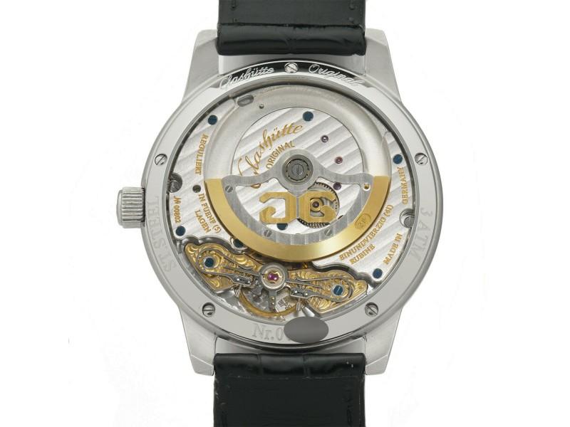 Glashutte Original Panomatic 90-01-02 Steel 39mm  Watch