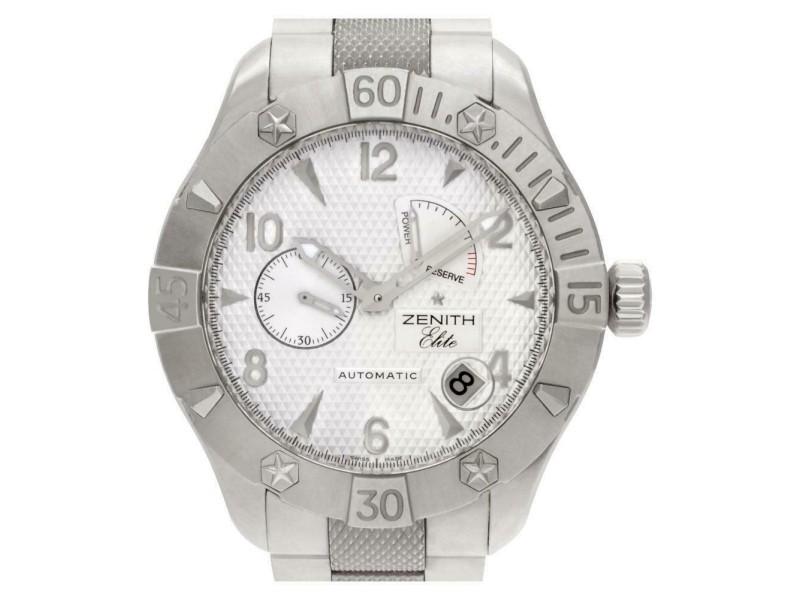 Zenith Elite 03.0516. Steel 43.0mm  Watch
