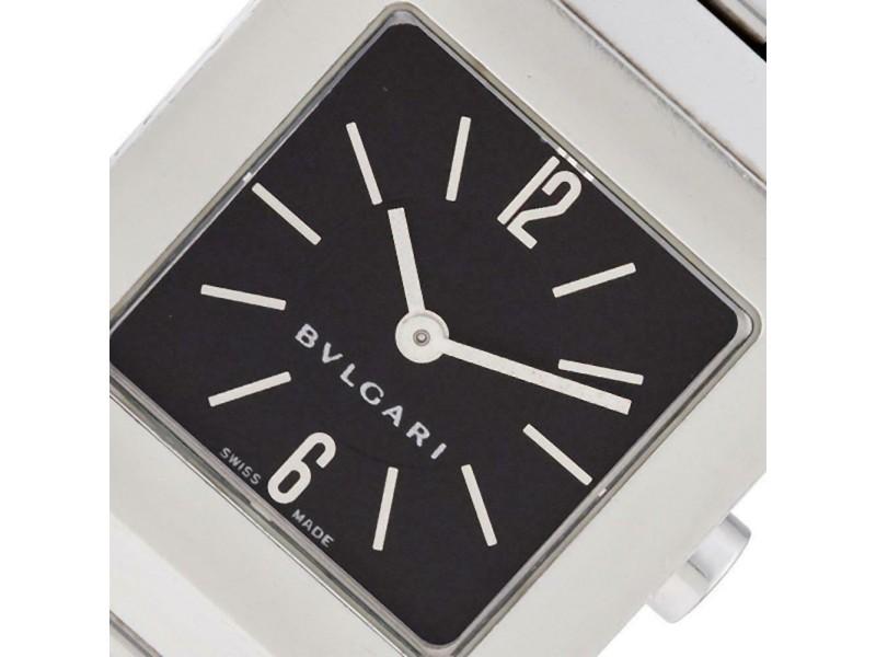 Bvlgari Quadratto SQ22SS Steel 22.0mm Women's Watch
