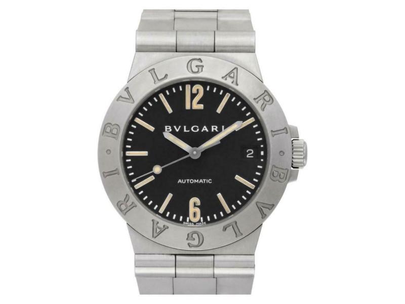 Bvlgari Diagono LCV 35 S Steel 35.0mm  Watch
