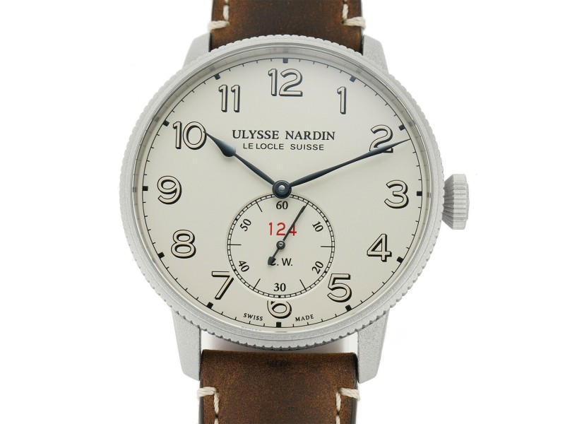 Ulysse Nardin Marine 1183-320 Steel 44mm  Watch