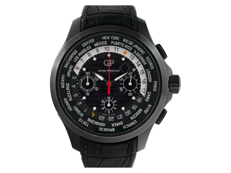 Girard Perragaux Traveller 49700-21 Titanium 44.0mm  Watch