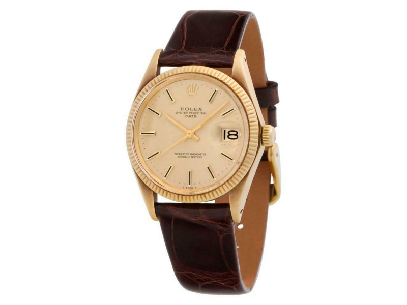Rolex Date 1503 Gold 34.0mm  Watch
